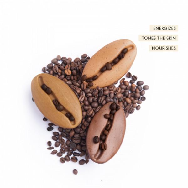 mCaffeine Signature Coffee Bathing Bars, 300gm (Pack of 3)