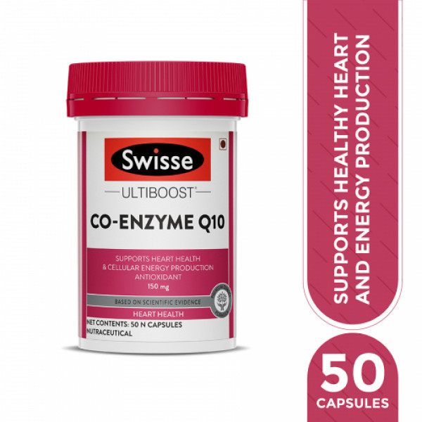 Swisse Ultiboost Co Enzyme Q10 , 50 Capsules