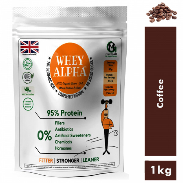 OMG Whey Alpha Coffee, 1kg