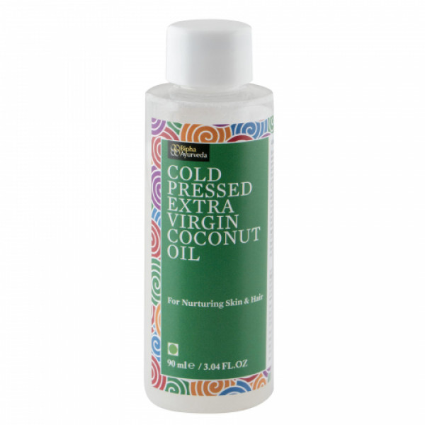 Bipha Ayurveda Cold Pressed Extra Virgin Coconut Oil, 90ml