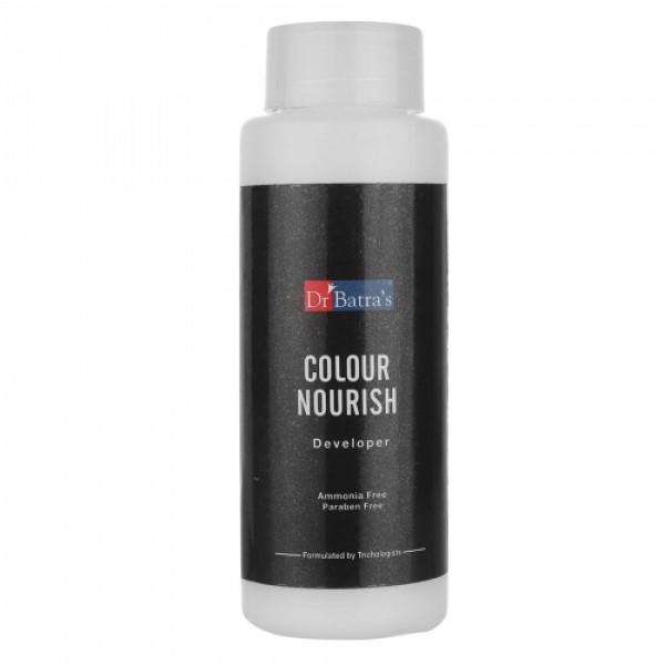 Dr Batra's Colour Nourish Hair Colour Cream, 120gm (Black)