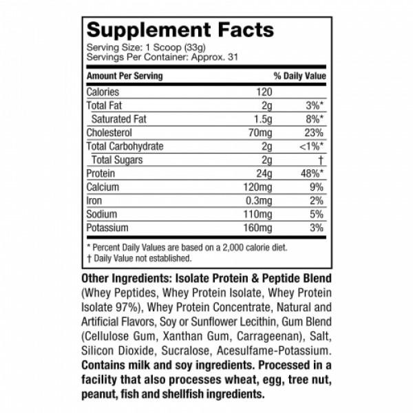Muscletech Nitro Tech Whey Gold Protein Powder French Vanilla Cream, 999gm