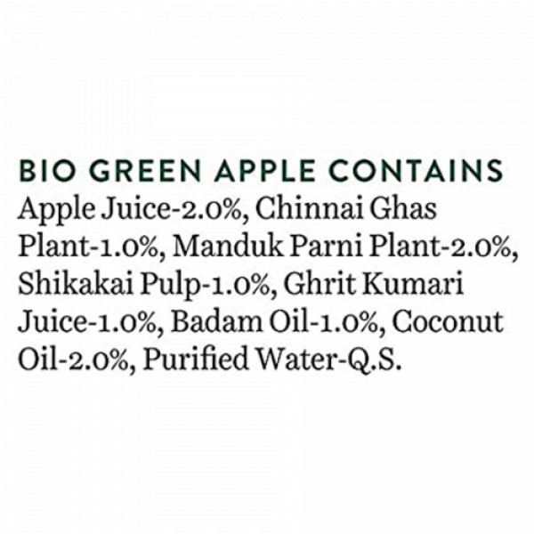 Biotique Bio Green Apple Fresh Daily Purifying Shampoo & Conditioner, 800ml