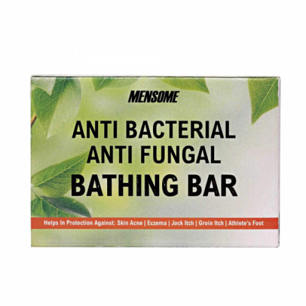 Mensome Anti Bacterial Bathing Bar, 75gm (Pack Of 8)