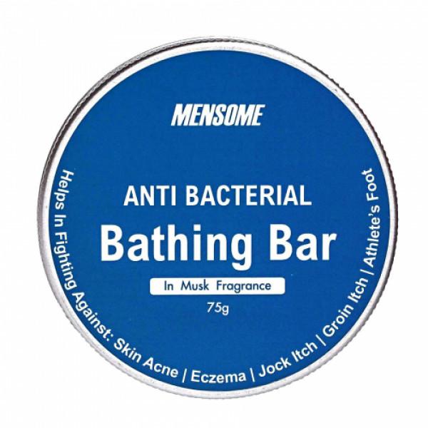 Mensome Anti Bacterial Bathing Bar, 75gm ( Pack Of 12) - Musk Fragrance