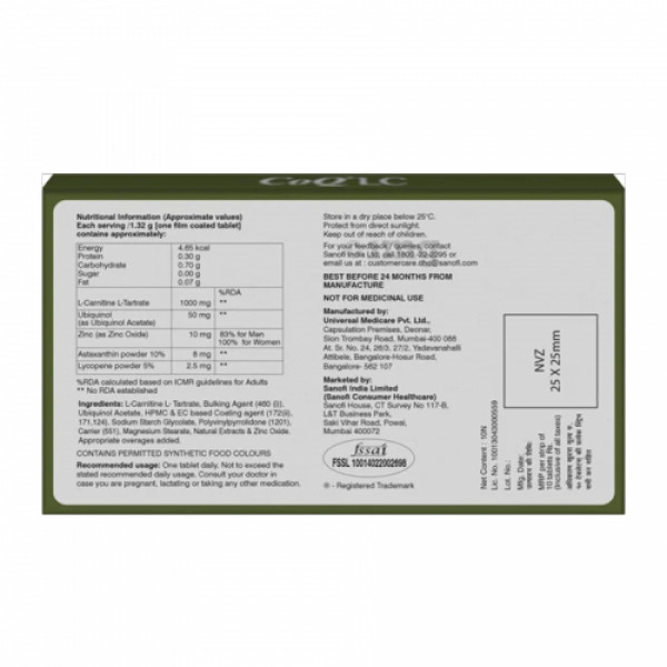 COQ-LC, 10 Tablets