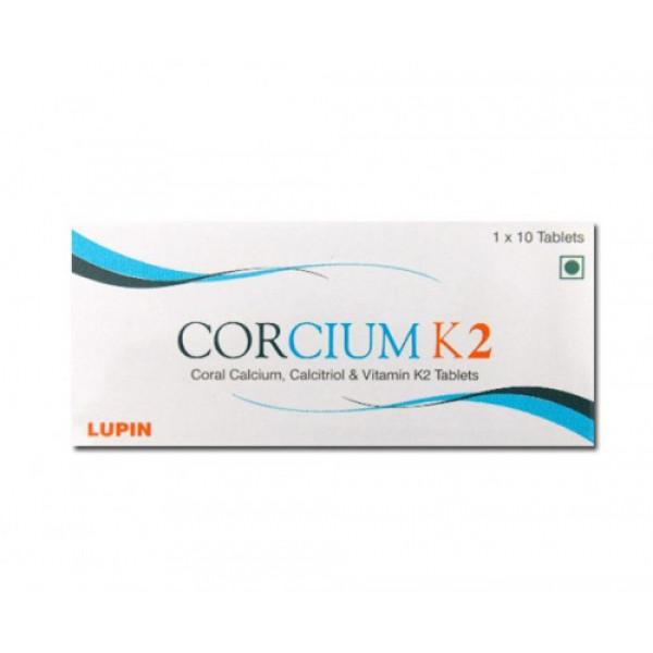 Corcium-K2, 10 Tablets