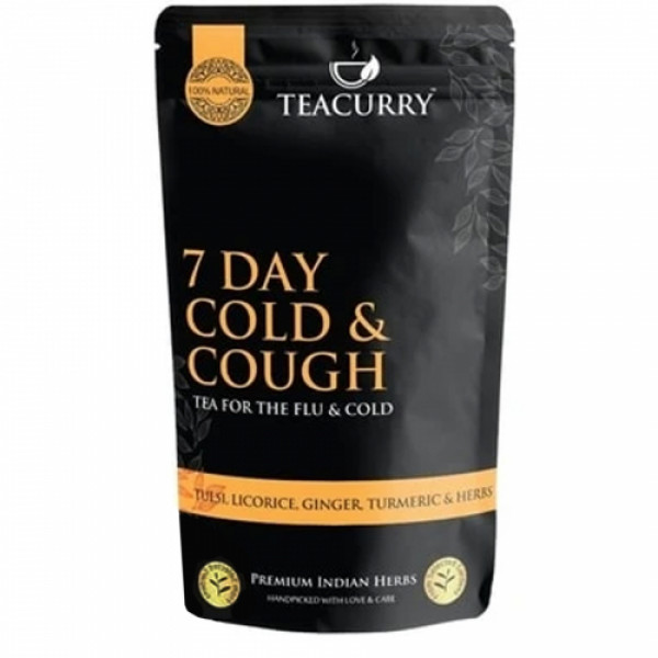 Teacurry Cough and Cold Tea, 200gm