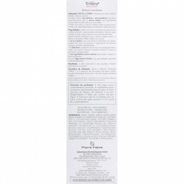 Avene Trixera Selectiose Emollient Cream, 200ml