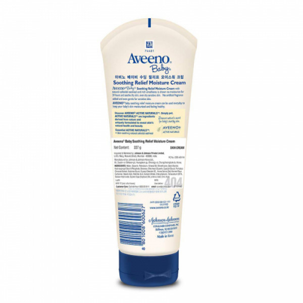 Aveeno Baby Soothing Relief Moist Cream, 227gm