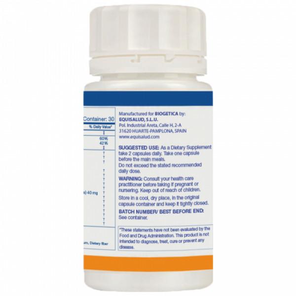 Biogetica Holoram Cronisol-D, 60 Capsules