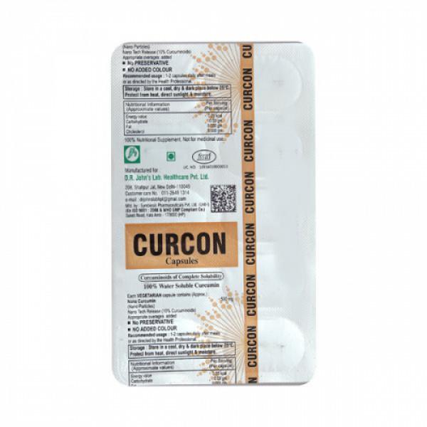 Curcon, 10 Capsules