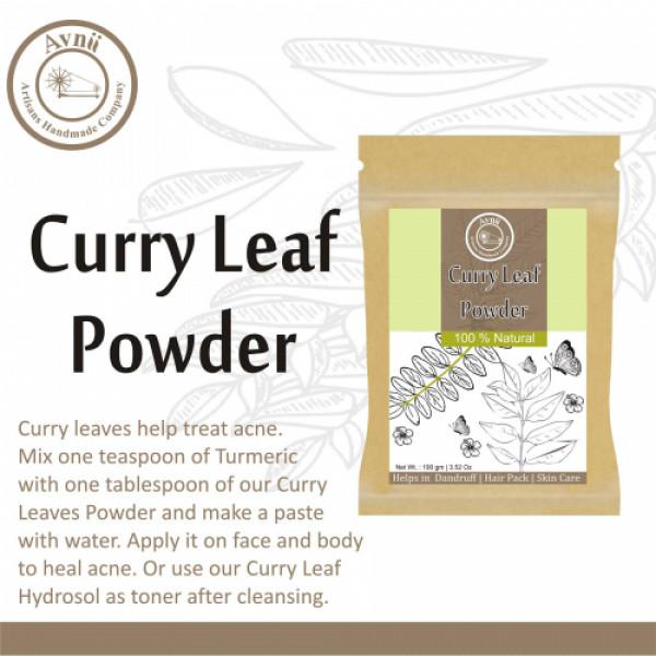 Avnii Organics Natural Curry Leaf Powder, 100gm