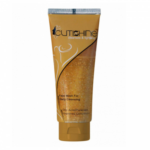 Cutishine Anti Acne Face Wash, 70gm