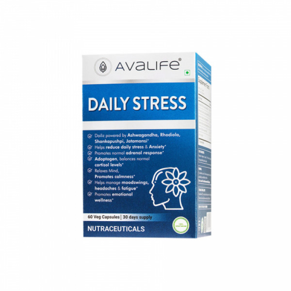 Avalife Daily Stress, 60 Capsules