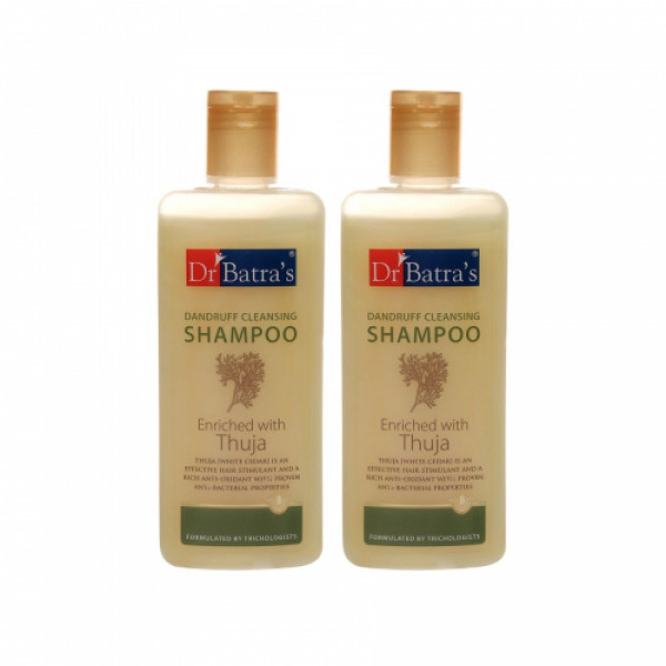 Dr Batra's Dandruff Cleansing Shampoo, 200ml (Pack Of 2)