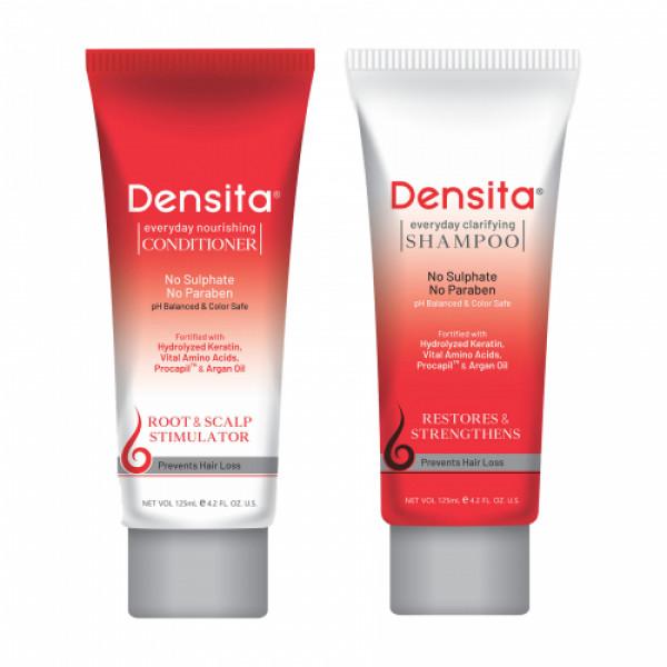 Densita Everyday Clarifying Shampoo & Everyday Nourishing Conditioner,125ml