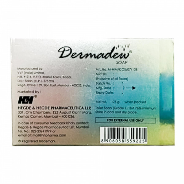 Dermadew Soap, 125gm