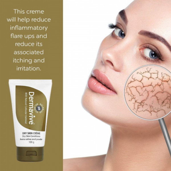Dermavive Dry Skin Creme, 100gm