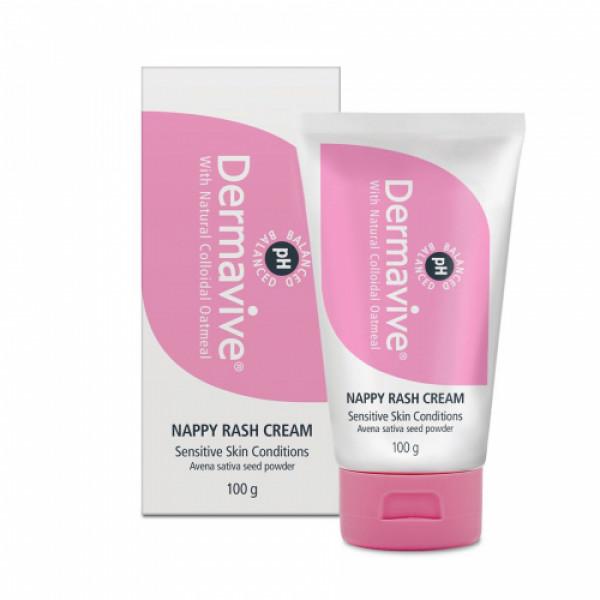 Dermavive Nappy Rash Cream, 100gm