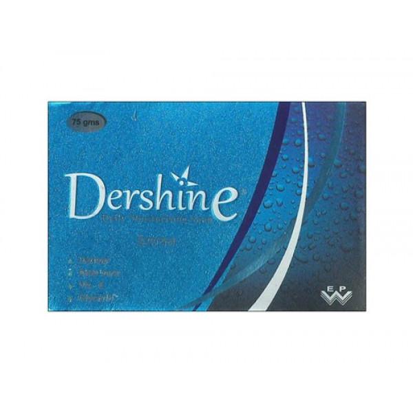 Dershine Daily Moisturising Soap, 75gm