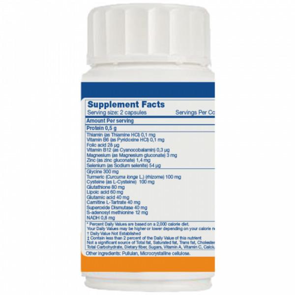 Biogetica Holoram Detoxym, 60 Capsules