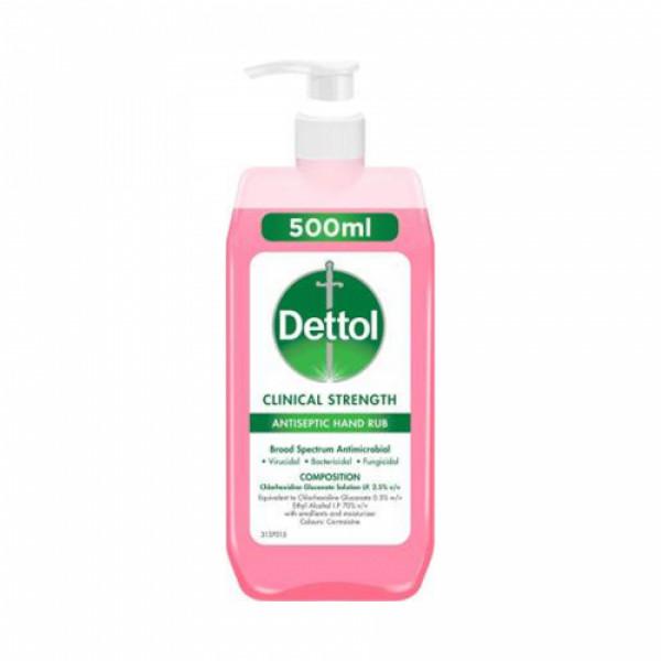 Dettol Clinical Strength Antiseptic Hand Rub, 500ml