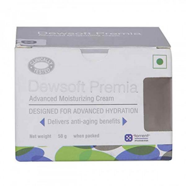 Dewsoft Premia Advanced Moisturizing Cream, 50gm