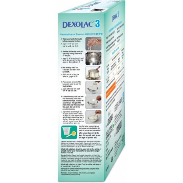 Dexolac - 3 Follow-Up Formula Refill Pack, 400gm
