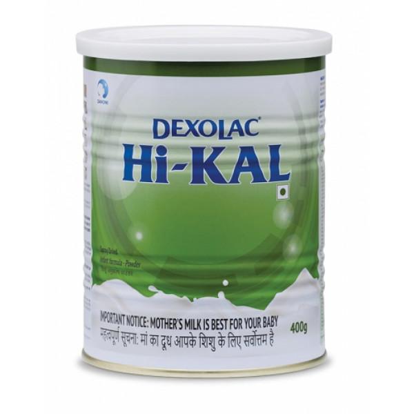 Dexolac Hi-KAL Infant Formula, 400gm