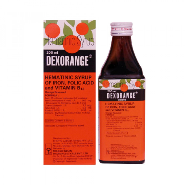 Dexorange Syrup, 200ml