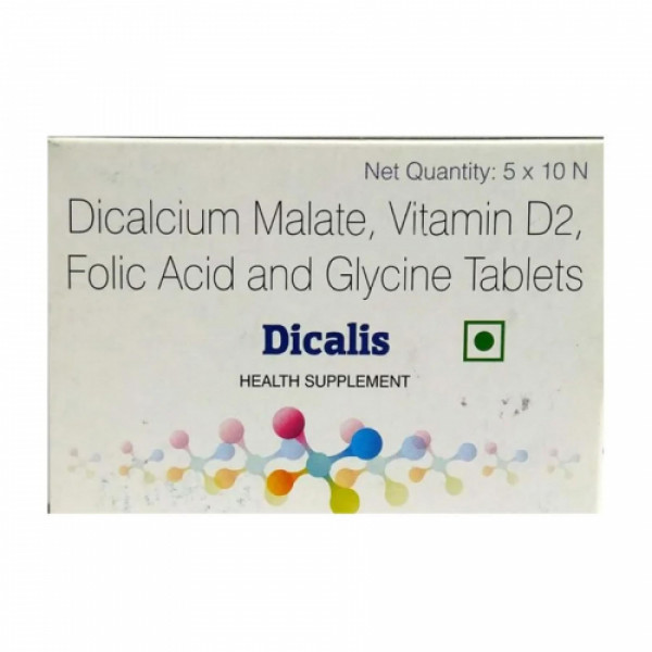 Dicalis, 10 Tablets