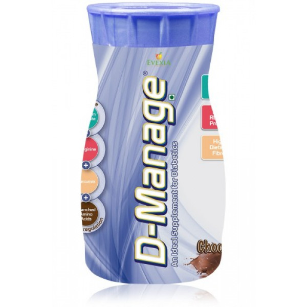 D-Manage Powder (Chocolate), 500gm