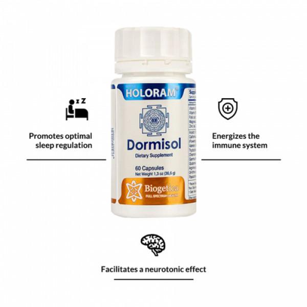 Biogetica Holoram Dormisol, 60 Capsules