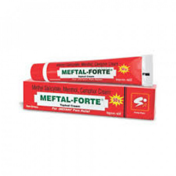 Meftal Forte Plus Cream, 50gm