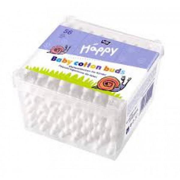 Bella Baby Happy Cotton Buds, 56 Pieces