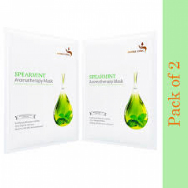 Aroma Yong Spearmint Aromatherapy Face Mask, 54gm (PackOf 2)