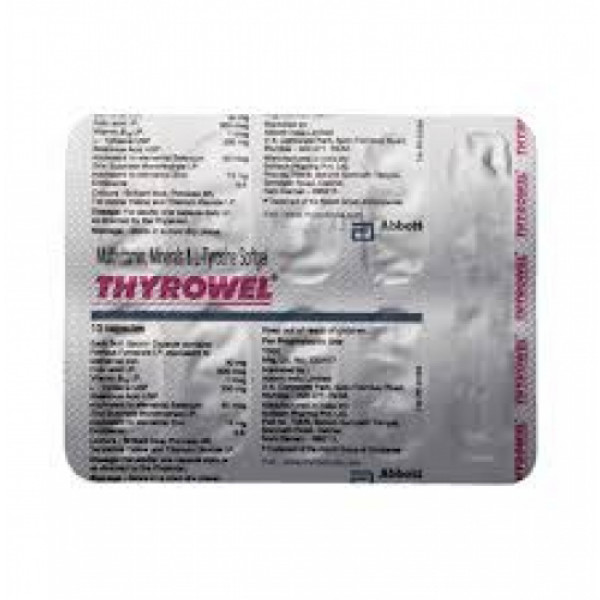 Thyrowel Softgel, 10 Capsules