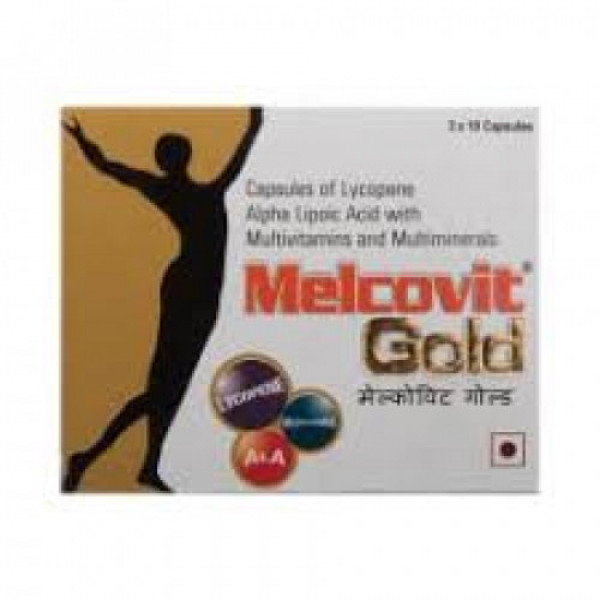 Melcovit Gold, 10 Capsules