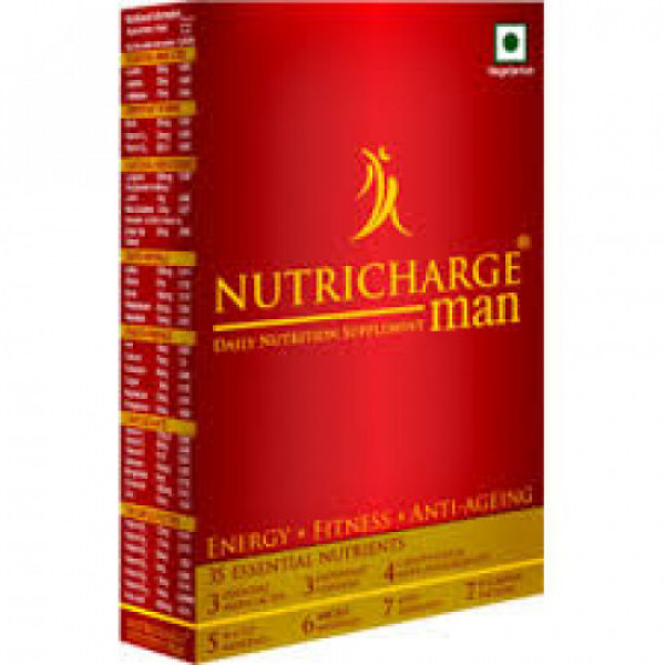 Nutricharge Man, 3x10 Tablets