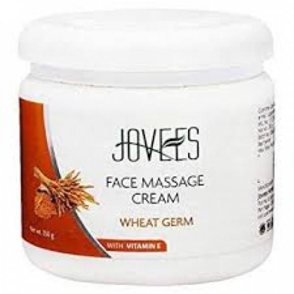 Jovees Wheat Germ Face Massage Cream, 350gm