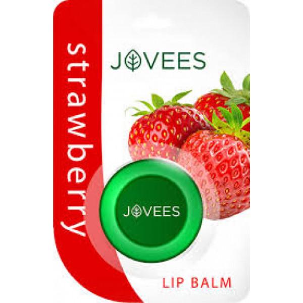 Jovees Strawberry Lip Balm, 5gm