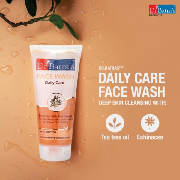 Dr Batra's Daily Care Facewash, 100ml (Pack Of 3)