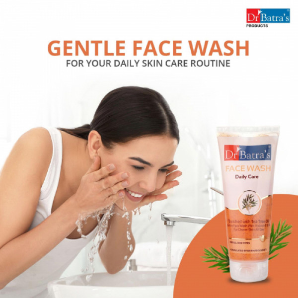 Dr Batra's Daily Care Facewash, 100ml (Pack Of 2)