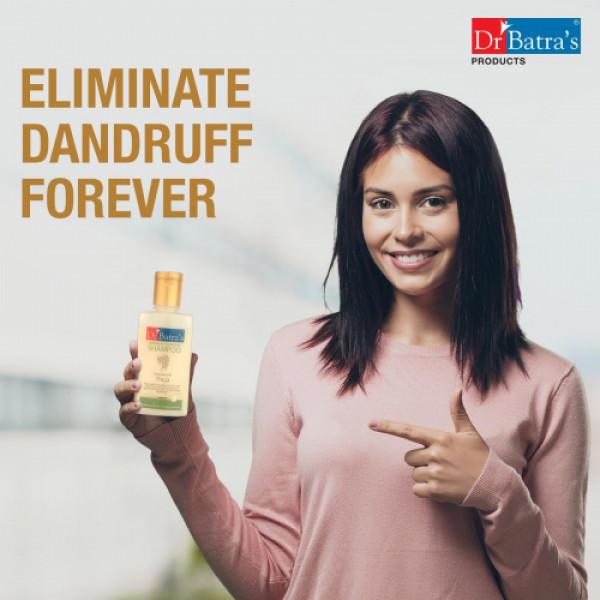 Dr Batra's Dandruff Cleansing Shampoo, 200ml (Pack Of 3)