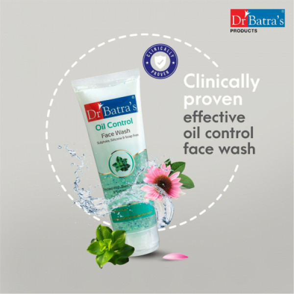 Dr Batra's Oil Control Face Wash, 100ml (Pack of 2)