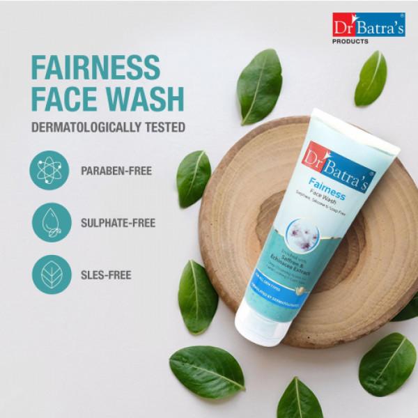 Dr Batra's Face Wash, 100gm (Pack of 4)
