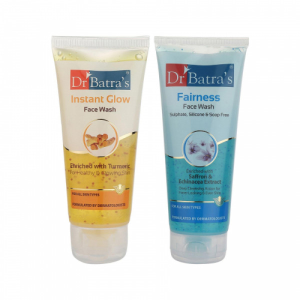 Dr Batra's Instant Glow Face Wash With Face Wash Combo Pack