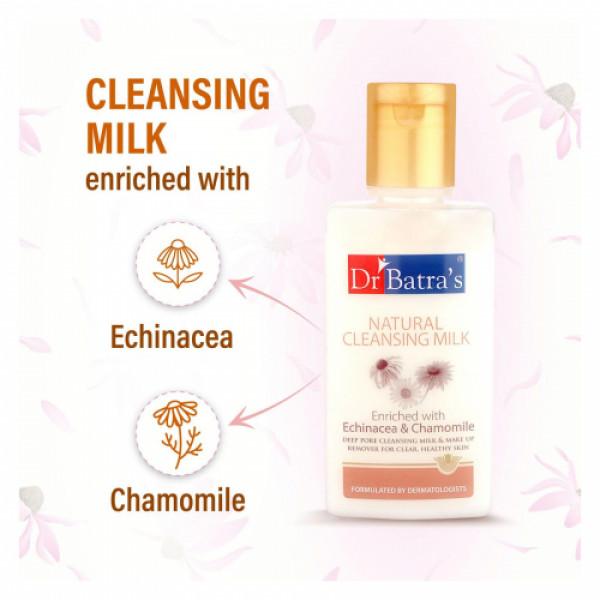 Dr Batra's Natural Cleansing Milk, 100ml (Pack Of 3)