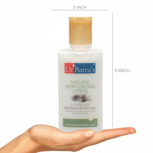 Dr Batra's Instant Glow Face Wash With Natural Moisturising Lotion Combo Pack